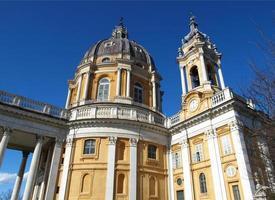 basilica di superga, turin foto