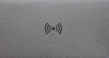 RFID-Radiofrequenz-Identifikationssymbol foto