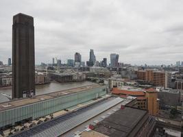 Luftaufnahme von London foto