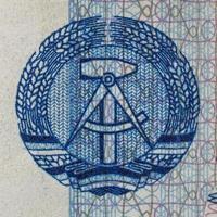 ddr banknote detail foto