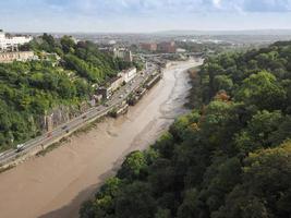 Fluss-Avon-Schlucht in Bristol foto