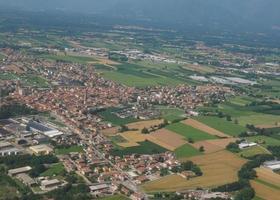 Luftaufnahme von San Maurizio Canavese foto