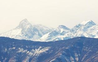 Blick auf die italienischen Alpen im Aostatal, Italien? foto