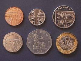 Pfundmünzen, Großbritannien foto