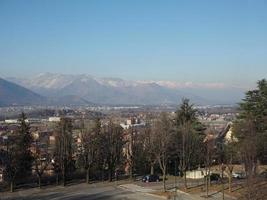 Luftaufnahme von Rivoli foto