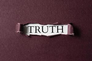 die abstrakte Wahrheitskonzeptanordnung foto