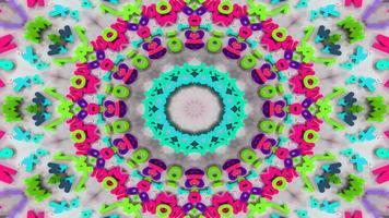 Zahlen und Buchstaben Kaleidoskop foto