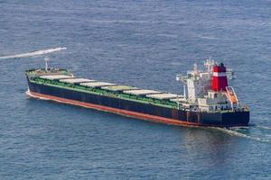 Öltanker Segeln in der Guanabara-Bucht in Rio de Janeiro, Brasilien foto