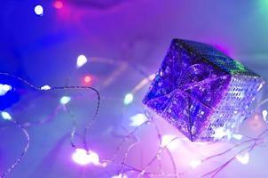 neonfarbener Hintergrund foto
