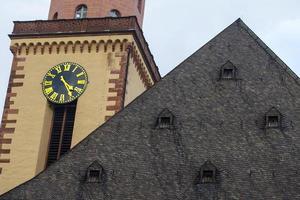 Vintage historische Christentum Tempelkirche foto