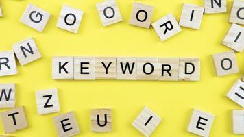 Keyword-Suchmaschinenoptimierung foto
