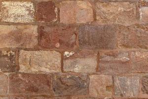 Steinmauer Textur Hintergrund. foto