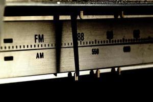 alte Technologie Radiosignalsuchanzeige foto
