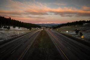 i-70 west, colorado foto
