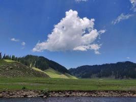Bangus-Tal in Kupwara Kaschmir foto