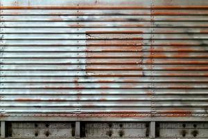 blaue Grunge-Metallplatte Textur. foto