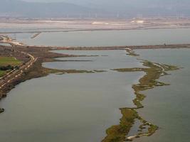 stagno di cagliari pool der lagune von cagliari foto