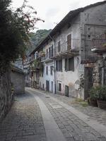 Dorf von Donnas foto