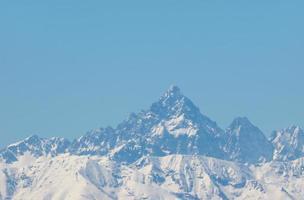 monviso in den cottian alps, italien foto