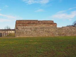 römische mauer turin foto