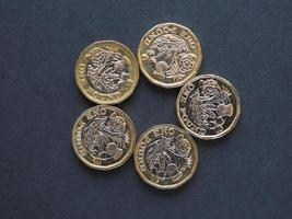 1-Pfund-Münze, Großbritannien foto