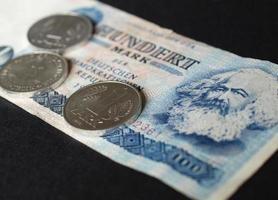 ddr-mark-banknote foto
