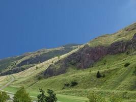 Arthur Seat Hill in Edinburgh foto