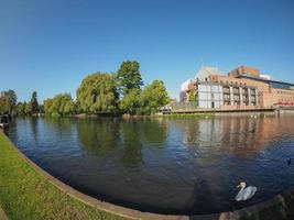 Fluss Avon in Stratford-upon-Avon foto