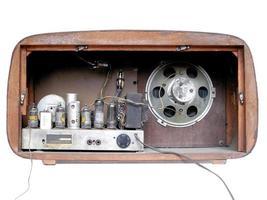 alt bin radio tuner foto