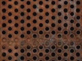 verrosteter Metallbeschaffenheitshintergrund foto