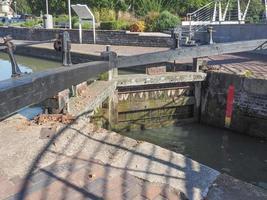 Schleusentor in Stratford-upon-Avon foto