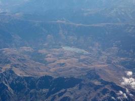 Luftaufnahme von Korsika foto