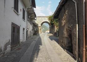 Dorf Donnas Osttor foto
