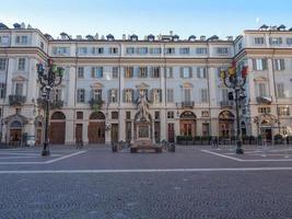 Piazza Carignano Turin foto