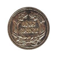 eine Cent-Münze foto