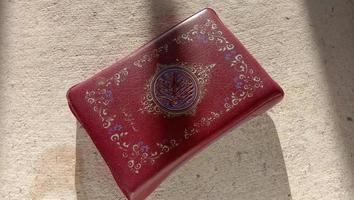 Fotos vom Koran und Gebetsketten, diese Fotos