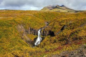 svartifoss in Island foto