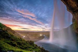 Island schöne Landschaft, isländische Naturlandschaft foto
