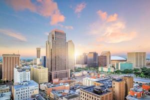 Innenstadt von New Orleans, Louisiana, USA foto