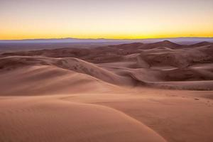 großartiger Sanddünen-Nationalpark in Colorado foto