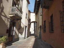 Blick auf die Stadt Alba foto