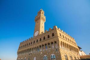 Palazzo Vecchio in Florenz Italien foto