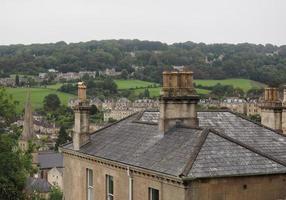 Blick auf die Stadt Bath foto