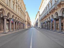 über roma, turin foto