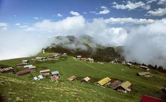 Sal-Plateau, Rize, Truthahn, Hochlandblick, Naturlandschaft foto