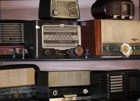 Retro Vintage altes Radio Nostalgieobjekt foto