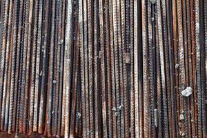 industrielles Metalleisenbaukonzept foto