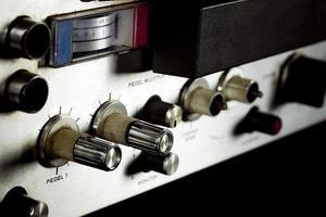 Vintage analoges Retro-Tonbandgerät foto