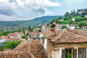 ein wunderschönes antikes tourismuszentrum stadt sirince foto
