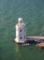 Leuchtturm in Venedig foto